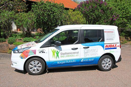 Mit dem Bürger-Rufauto sind unter anderem Fahrten zum Arzt, zum Krankenhaus oder zu  Geschäften möglich.  Foto: Verein Foto: Schwarzwälder Bote