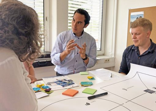 In den Workshops erarbeiteten die Teilnehmer, wie sie ihre Geschäftsideen zu Geld machen können.   Foto: Korinth Foto: Schwarzwälder Bote