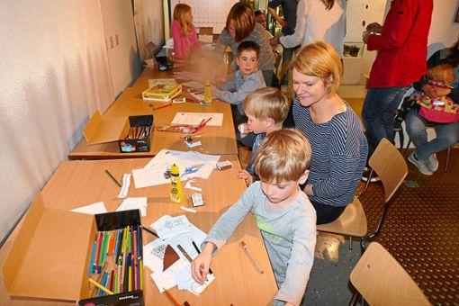 Am Familiennachmittag ist im Uhrenindustriemuseum einiges geboten.   Foto: Bombardi Foto: Schwarzwälder Bote