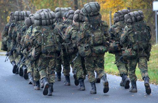 Rund 1300 Soldaten sind an dem freilaufenden Manöver beteiligt. (Symbolfoto) Foto: dpa