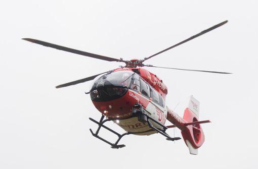 Ein fünf Jahre altes Mädchen wurde mit einem Hubschrauber in eine Klinik gebracht. (Symbolfoto) Foto: dpa