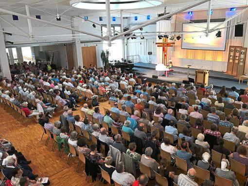 Im Missions- und Schulungszentrum in Bad Liebenzell ging es um Glaubensfragen.     Foto: Schillinger Foto: Schwarzwälder Bote