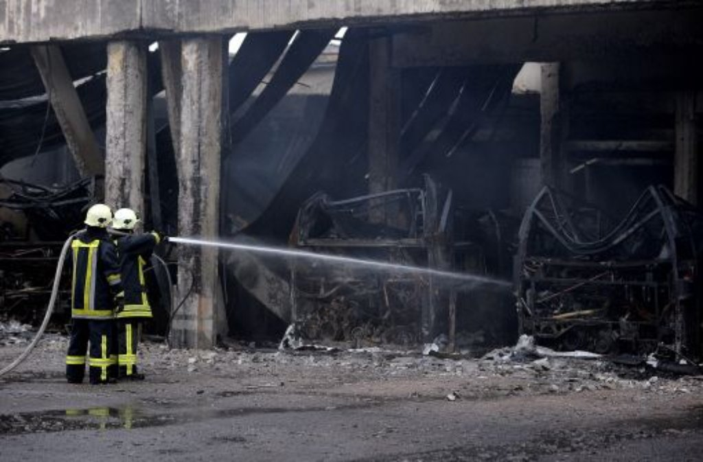 In Bottrop Kreis Recklinghausen Zerst Rte Ein Feuer