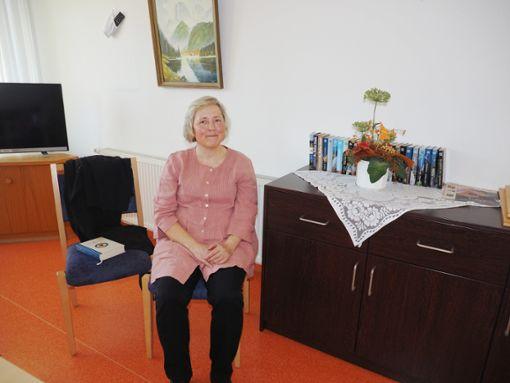 Seelsorgerin Birgit Henschel widmet sich  den Senioren.   Foto: Vögele Foto: Schwarzwälder Bote