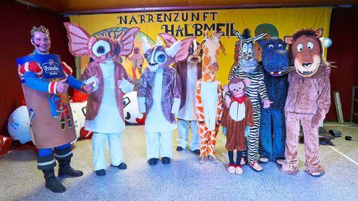 Sie konnten sich über die ersten beiden Plätze freuen: Die Gremlins (links) und die Madagaskar-Tiere. Foto: Bea