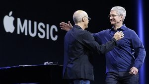 Musik-Streaming: Apple greift mit Streaming-Dienst Spotify an