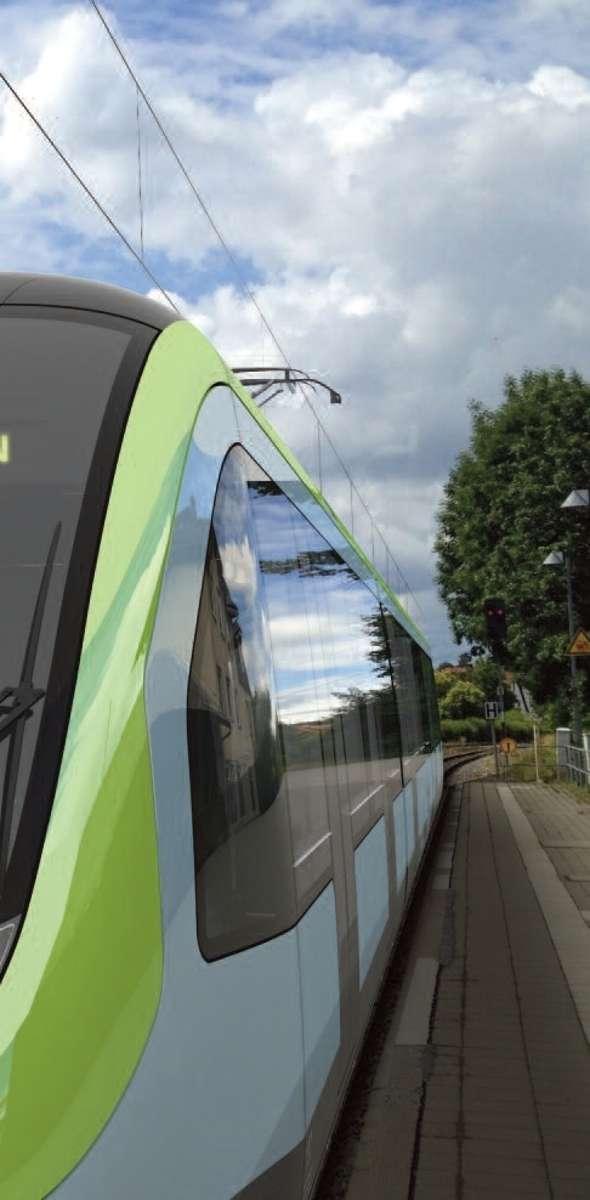 Leise und schnell: die Regionalstadtbahn. Grafik: Tricon Design AG Foto: Schwarzwälder Bote