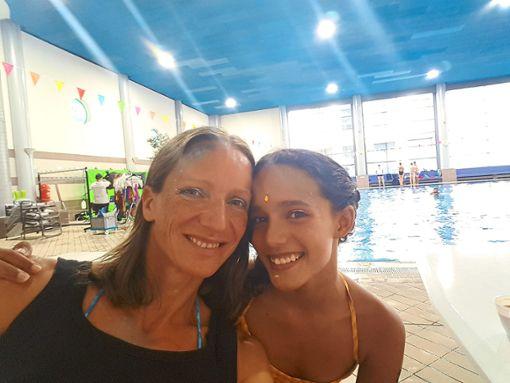 Gabriele Raddadi und ihre Tochter Meryem. Foto: Raddadii