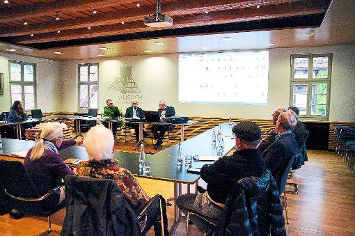 Auch viele neue Gesichter fanden sich bei dem Treffen des Museumskreises ein.    Foto: Reinhard