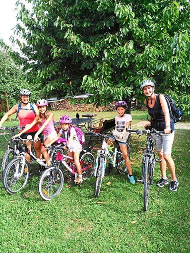 Bei der Ferienprogramm-Aktion des ASC Betra ging es mit den Fahrrädern nach Empfingen.  Foto: ASC Foto: Schwarzwälder Bote