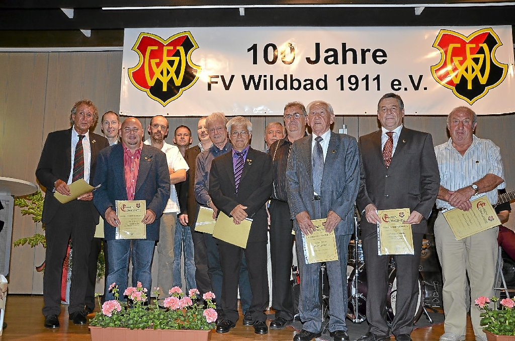 Bad Wildbad: FV Wildbad feiert 100-jähriges Bestehen - Calw ...