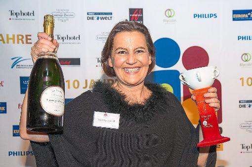 Uta Schlagenhauf freute sich über den Preis.   Foto: Freizeit-Verlag Foto: Schwarzwälder-Bote