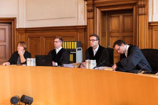 Vor der Schwurgerichtskammer des Landgerichts wird der Prozess am 4. April fortgesetzt.Foto: Graner Foto: Graner