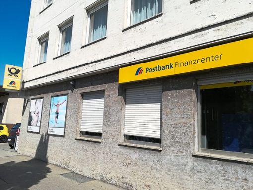 Die Tage der Postfiliale im Goldenbühl sind gezählt: Ende Oktober schließt die Postbank den Standort in  Villingen.    Foto: Albert