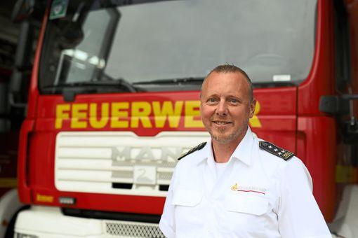 Markus Megerle war zehn Jahre lang Kommandant in Horb, nun leitet er die Geschicke der Feuerwehr in Villingen-Schwenningen.   Foto: Eich