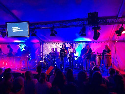 Praise Unlimited ist eine von vier Bands, die beim Festival No Limits am Samstag spielen.  Foto: Conzelmann Foto: Schwarzwälder-Bote
