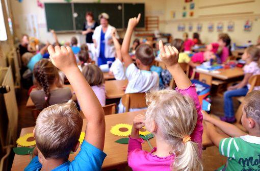 Lesen, Schreiben, Rechnen soll in der Grundschule den Vorrang vor Englisch und Französisch bekommen. Foto: dpa-Zentralbild