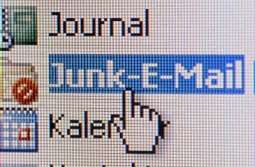 Junk E-Mail Quelle: Unbekannt