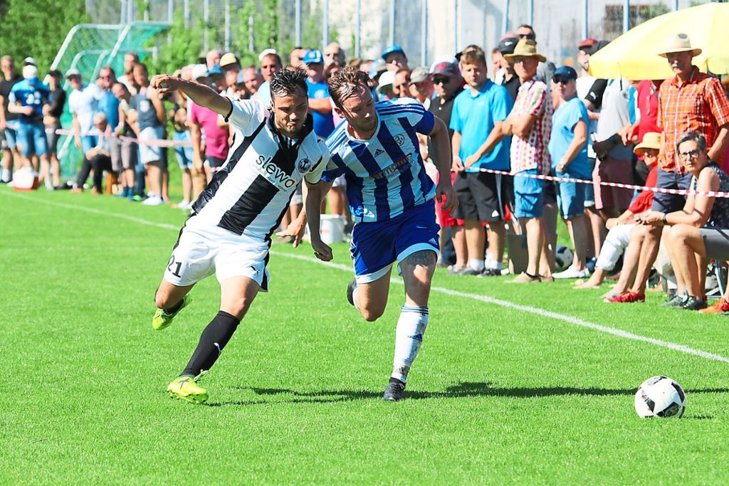 Fussball Kickers Lauterbach Losen Sueben Ab Fussball