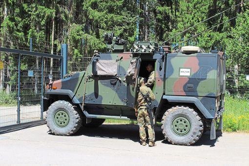 Die Bundeswehr nutzt derzeit Innovationscampus für eine Übung. Foto: Hans Schach