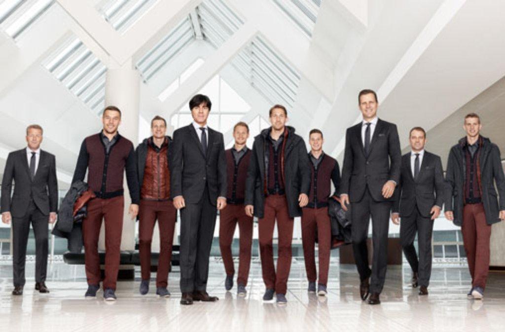 many styles classic fit various styles Metzinger Mode für Jogi und Co.: Hugo Boss stattet die ...