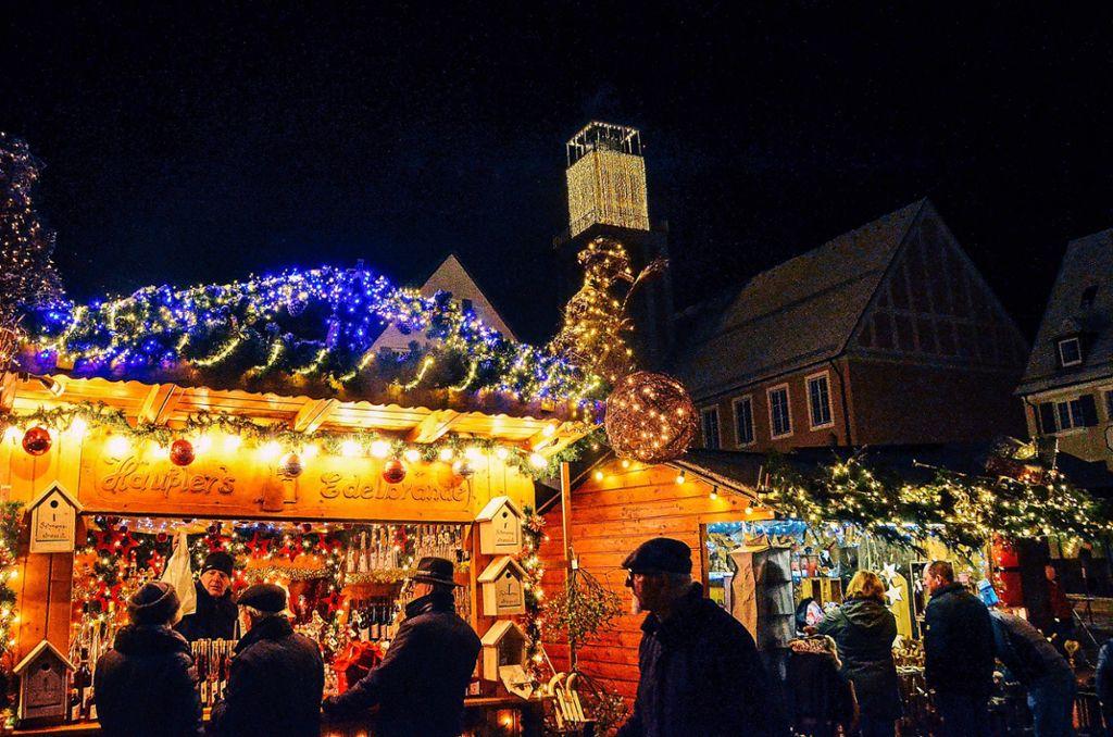 Standgebühr Weihnachtsmarkt Stuttgart.Freudenstadt Rückenwind Für Weihnachtsmarkt Freudenstadt