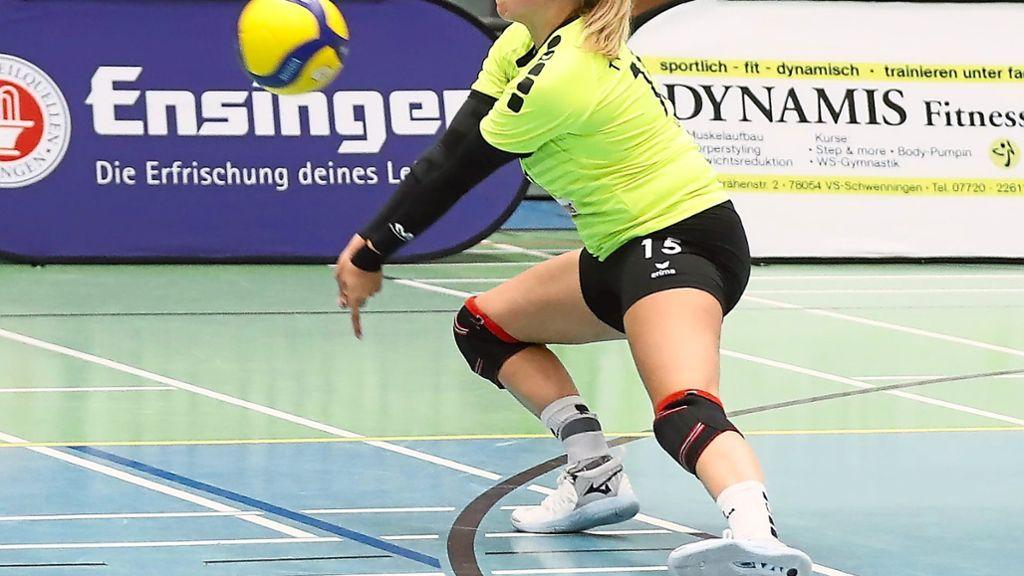 Volleyball: Villingerinnen mit Rückenwind - Volleyball - Schwarzwälder Bote