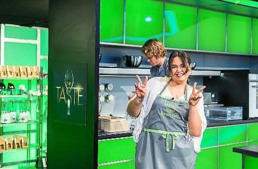 Ein Bild mit Symbolcharakter: Luisa Zerbo hat ihren Siegeszug im Finale von The Taste nicht fortgesetzt, die Schwenningerin empfindet ihre Zeit beim Fernsehen  allerdings als Gewinn – sowohl fürs Kochen als auch fürs Leben.   Foto: Wunderlich