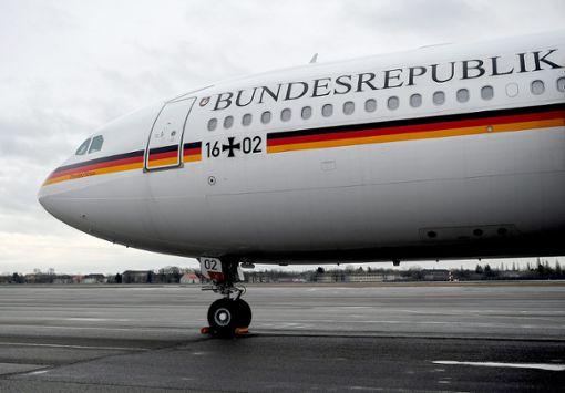 Nicht anfälliger als die Air-Force One: die Theodor Heuss der Flugbereitschaft.   Foto: Pedersen