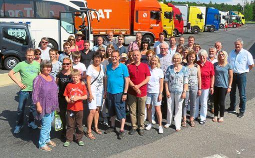 Die Städtepartnerschaft wird gelebt: Hier eine Reisegruppe aus Rosenfeld auf der Fahrt nach Moissy.  Fotos: Stadtverwaltung Foto: Schwarzwälder Bote