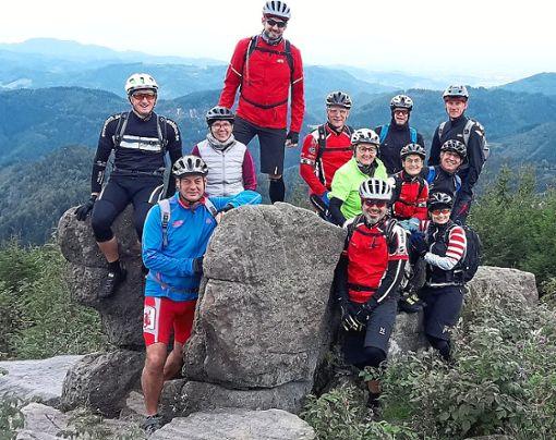 Die Mitglieder des Empfinger Radtreffs waren bei ihrer Herbsttour im Schwarzwald unterwegs.  Foto: Radtreff Foto: Schwarzwälder Bote