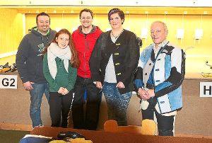 Meisterteam SV Althengstett (von links): Timo Klein, Theresa Götz, Tobias  Geiss, Sanja Westphal, Jürgen Schwämmle  Foto: Kraushaar Foto: Schwarzwälder-Bote