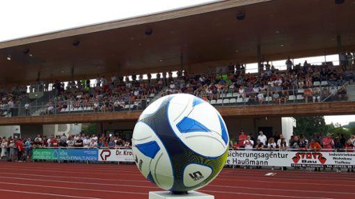 In der Regionalliga gibt es bezüglich zwei Heimspielen in der Bizerba-Arena Sicherheitsbedenken. Foto: Campos