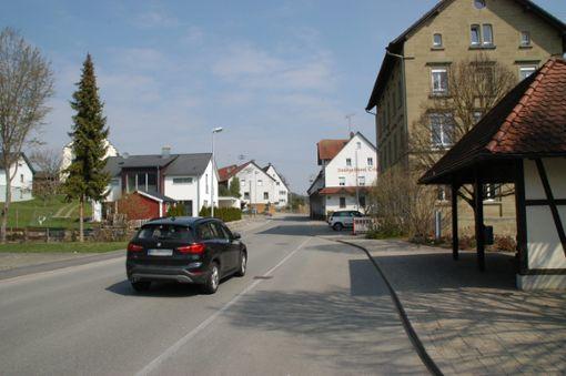 Keine Massen von Fahrzeugen erwartet Ortsvorsteher Rolf Kotz in Heiligenzimmern durch die Umleitung.  Foto: Hertle Foto: Schwarzwälder Bote