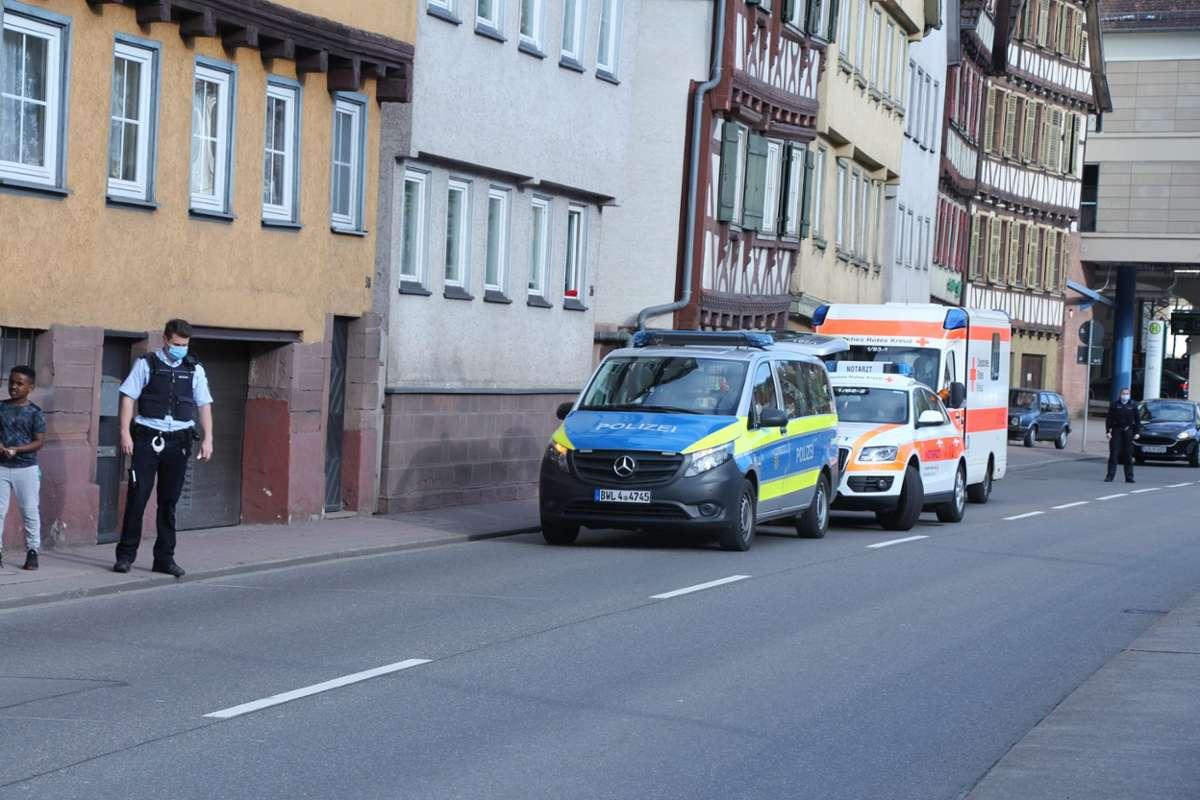 Schwer verletzt worden ist ein zweijähriger Junge bei einem Unfall in Calw. Foto: Sebastian Buck