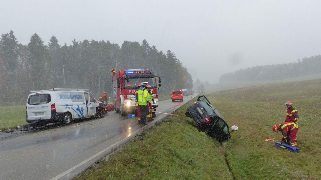 Freudenstadt: Zwei Verletzte bei Unfall auf B 28 - Freudenstadt - Schwarzwälder Bote