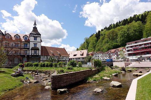 In Bad Herrenalb ist am Wochenende die Gartenschau eröffnet worden. Foto: Fritsch