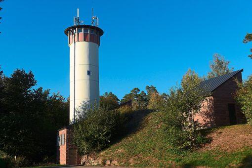 Der Liebelsberger Wasserturm. Foto: Teinachtal-Touristik
