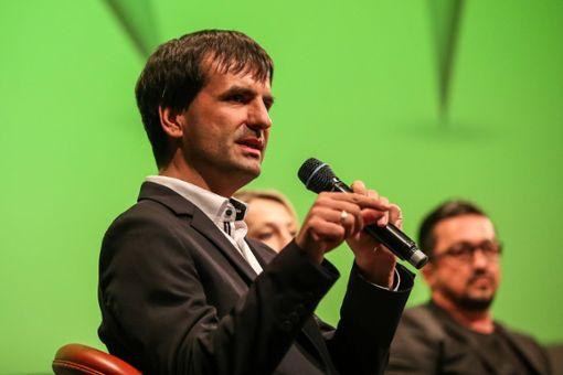 OB-Kandidat Jörg Röber nutzte einen Freiparkschein für einen seiner Wahlkampftermine.  Foto: Eich
