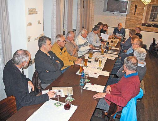 Eine lebhafte  Diskussionen gibt  es im SPD-Ortsverband zum Koalitionsvertrag.  Foto: Hübner Foto: Schwarzwälder Bote