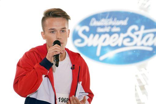 Jonas Weisser aus Villingendorf ist bei der aktuellen Staffel von Deutschland sucht den Superstar dabei. Foto: MG RTL D / Stefan Gregorowius