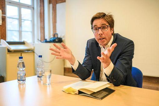 Markus Feldenkirchen begleitete Martin Schulz rund ein Jahr lang.  Foto: Fritsch Foto: Schwarzwälder Bote