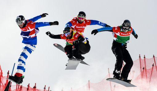 Snowboardcross: Weltcup macht am Wochenende am Feldberg Halt. Foto: Eibner