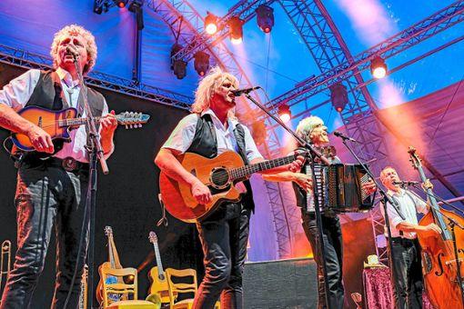 Die Stumpfes überzeugten ihre Zuhörer mit Humor und musikalischer Vielseitigkeit von sich. Foto: Fritsch