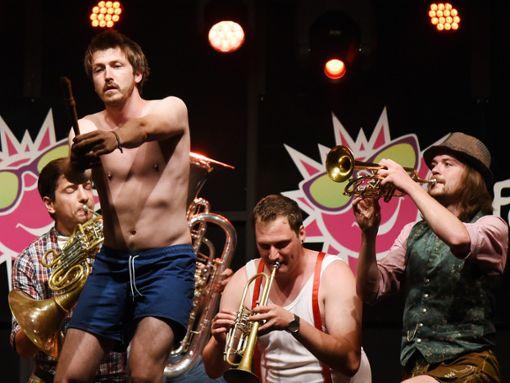 Blasmusik und Comedy: Das Erfolgsrezept des Seppdepp Septetts. Foto: Schnekenburger