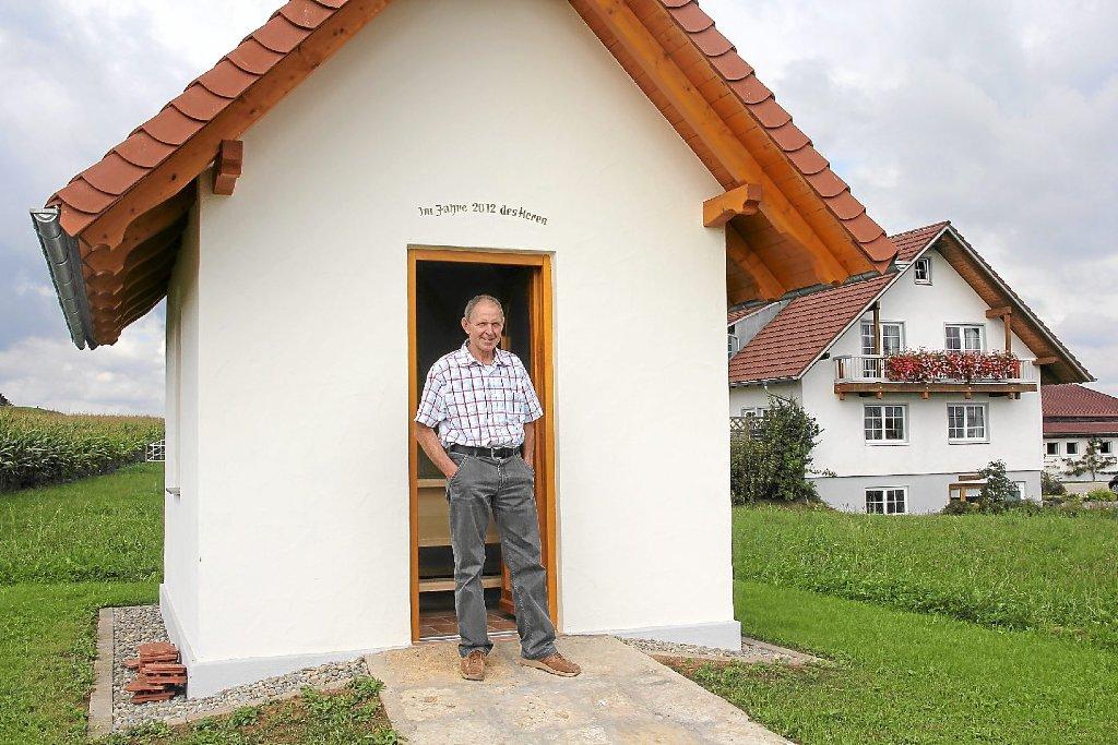donaueschingen hettichs vollenden bau der kapelle. Black Bedroom Furniture Sets. Home Design Ideas