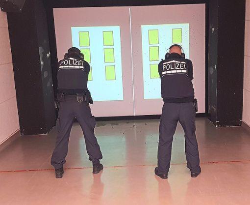 Am 8. Mai besteht die Möglichkeit, das Polizei- Trainingszentrum in Iselshausen zu besichtigen..  Foto: Polizei Foto: Schwarzwälder Bote
