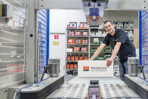 Defibrillatoren der Rottweiler Firma Metrax stehen weltweit für absolute Zuverlässigkeit bei einfacher Bedienung.  Foto: Metrax Foto: Schwarzwälder Bote