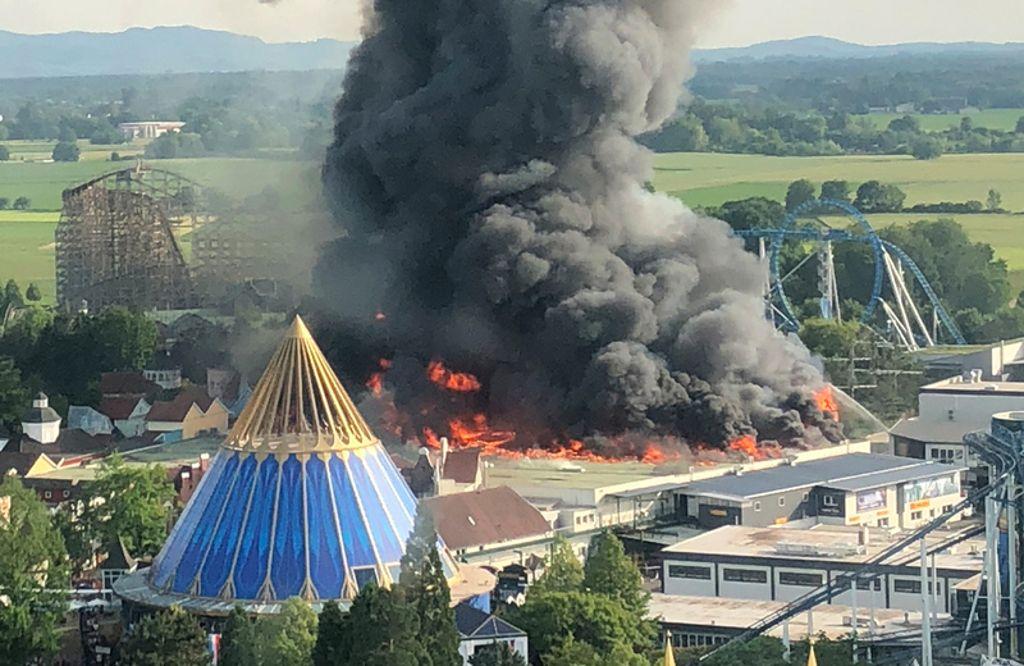 Europapark Nach Brand