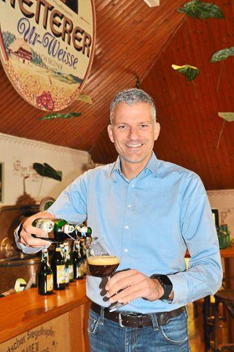 Philipp Ketterer nimmt an der Deutschen Meisterschaft der Biersommeliers teil. Foto: Stangenberg